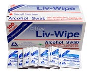 Isopropyl Wipes 100Pack