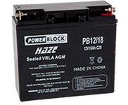 Power Block 12V 18Ah Battery Cf